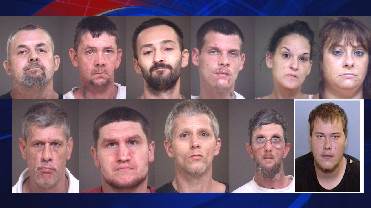 Eleven people facing drug charges in Lincoln County | Fox 46