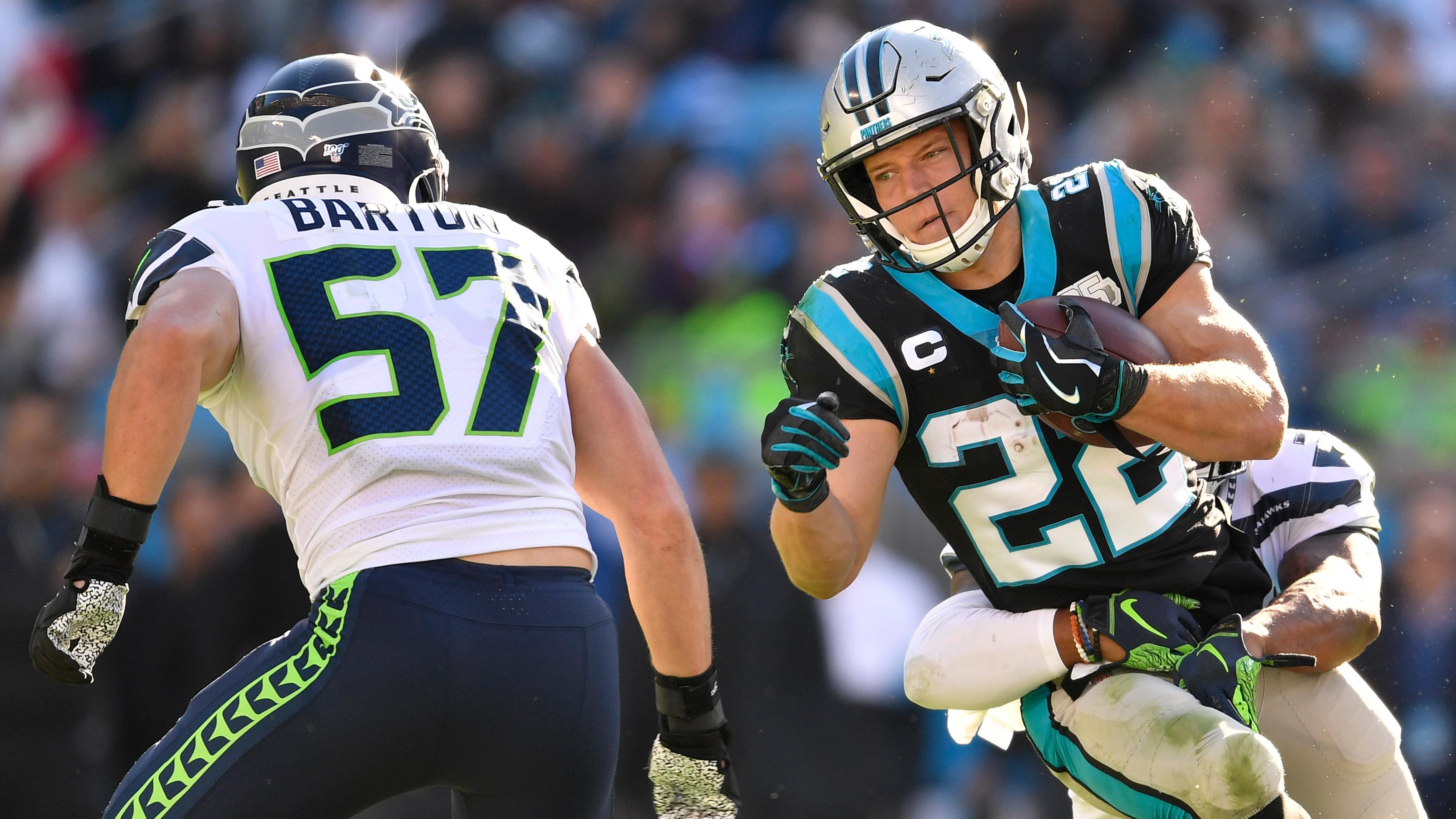 Despite McCaffrey's performance, Panthers fall short to Seahawks